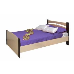 Кровать шириной 1200 венге