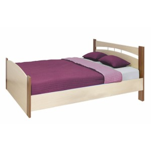 Кровать шириной 1200 ясень шимо темный