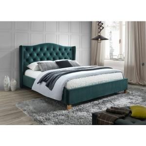 Кровать Signal Aspen Velvet 160 зеленый