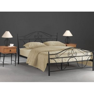 Кровать Signal Denver (черная)