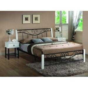 Кровать Signal Parma 160 (черно-белая)